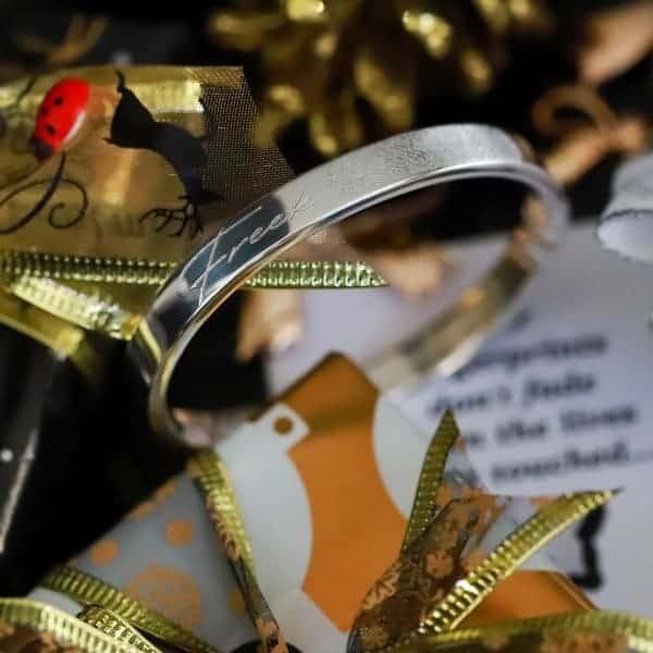 925 zilver Armband met Vingerafdruk en naam