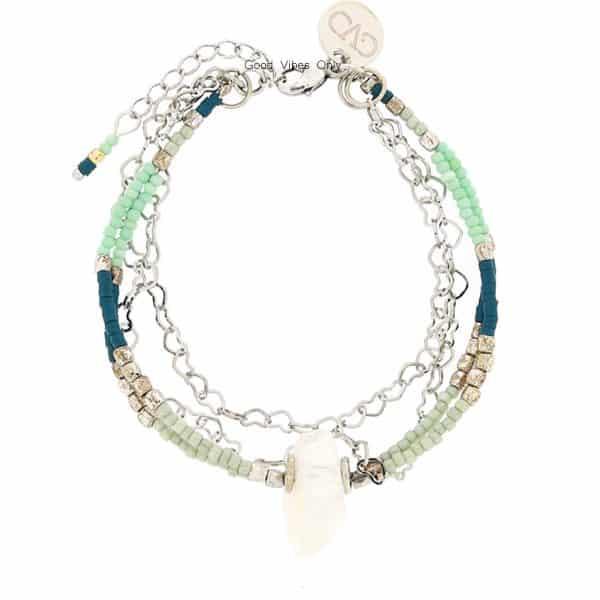 Driedubbele Armbandje Crystal Crush
