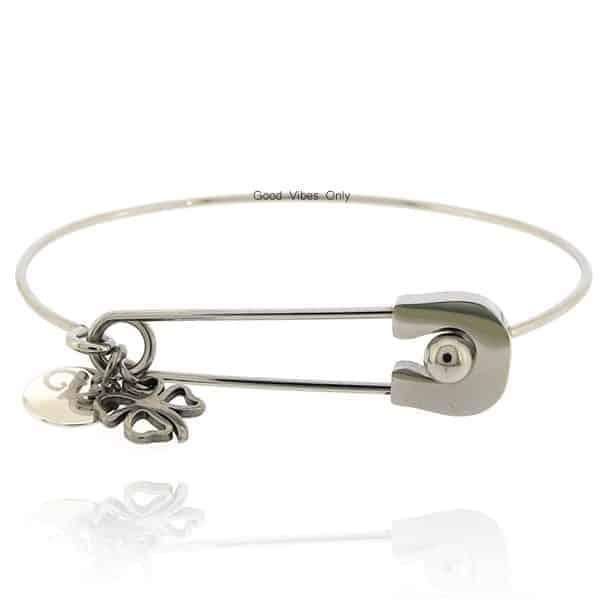 Good Vibes Only Armband Eindeloos Geluk zilver