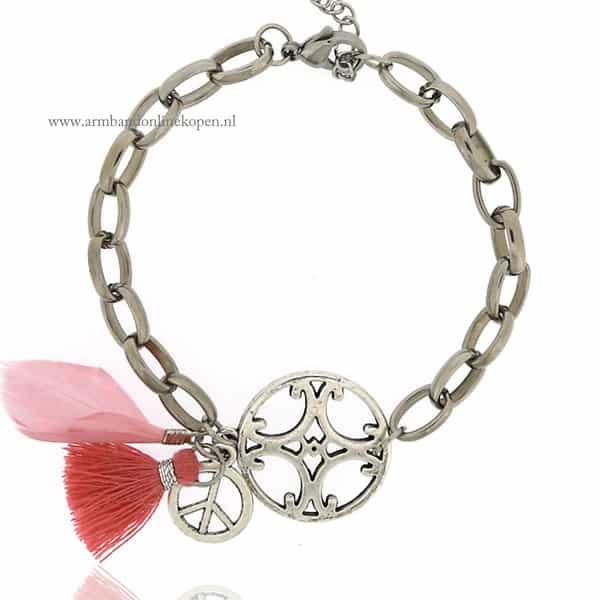 Bohemian Armband met Schakels