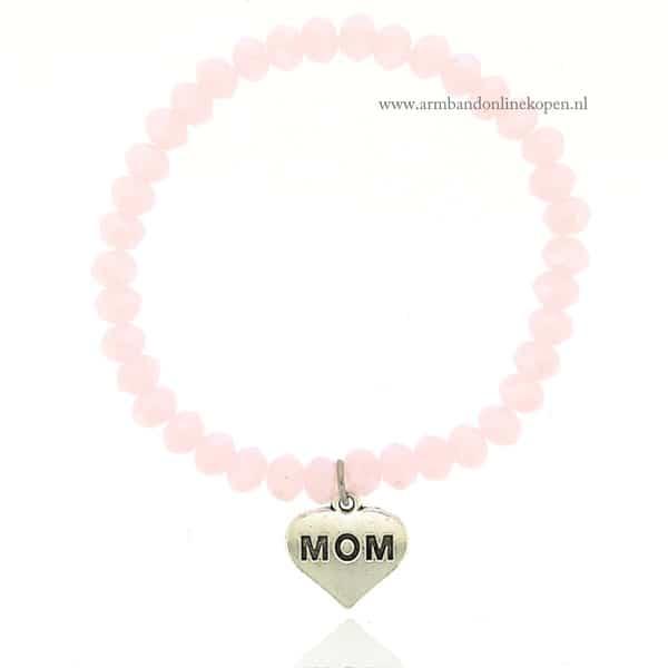 Kralen Armband Love You Mom